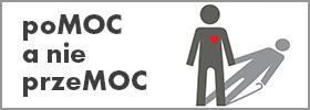 Logotyp poMOC a nie przeMOC